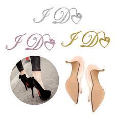 I Do Wedding Bridal Groom Shoes Sticker Acrylic Wedding Decal Wine Glass Decor Wish