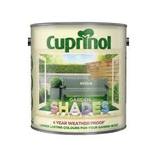 Argos Product Support For Cuprinol Garden Shades Matt Paint 2 5l Willow 427 0692