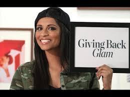 giving back glam with iisuperwomanii