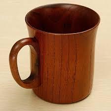 wooden handle mug souvenir handmade