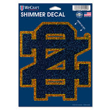 Notre Dame Fighting Irish Wincraft 5 X 7 Shimmer Decal