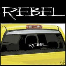 2 Pack Rebel Decal Car Truck Decals Window Decal No Fear Ebay