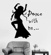 Vinyl Wall Decal Quote Dance Woman Girl Room Passion Art Stickers Uniq Wallstickers4you