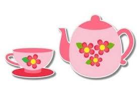 Tea Party Cute Teapot And Cup Set Car Laptop Phone Vinyl Sticker Select Size Ebay