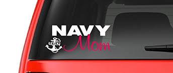 Navy Mom M36 Vinyl Decal Sticker Car Truck Laptop Netbook Window Wantitall