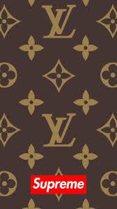supreme x louis vuitton wallpaper hd