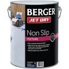 berger jet dry 10l non slip texture
