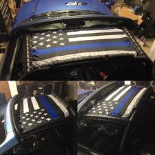 Fly Breeze Thin Blue Line Usa Flag 3x5 Foot Anley Flags
