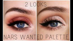 2 looks 1 palette new nars wanted