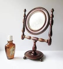 antique shaving mirror steel mfg