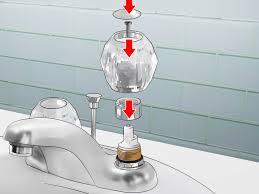 how to fix a bathroom faucet 14 steps