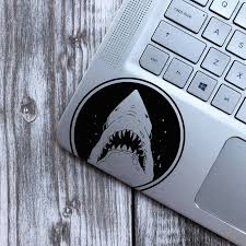 Shark Vinyl Sticker Laptop Decal Jaws Wall Sticker Etsy