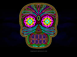 mexican skull wallpaper on wallpapersafari