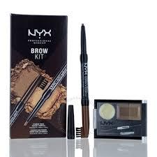 nyx brow kit blonde set eye gift set
