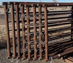 Portable Continuous Fence Panels Welded Ends High Plains Cattle Supply
