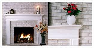 brick fireplace painted grey belezaa