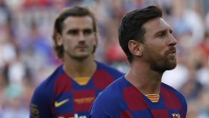 Image result for barcelona onfire messsi