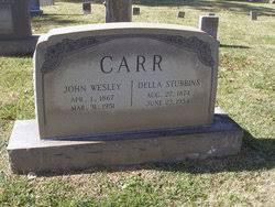 John Wesley Carr (1867-1951) - Find A Grave Memorial