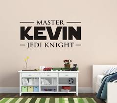 Star Wars Wall Decal Star Wars Name Wall Decals Kids Name Etsy