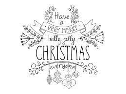 Very Merry Christmas Met Krijtstift Krijtstift Kerstbrieven En