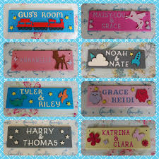 Shared Bedroom Personalised Children S Door Name Plaque Name Sign Any Names Any Colours Room Sharing Brothers Room Bedroom Doors Kids Door Signs Door Crafts