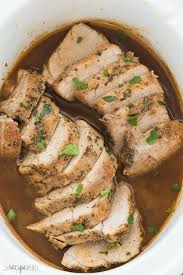 slow cooker pork tenderloin honey