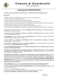 Coronavirus. Disposizioni in base al DPCM 8 Marzo 2020 e all ...