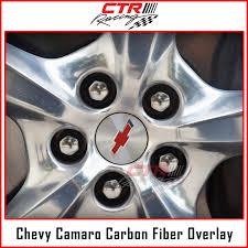 Chevrolet Camaro 2010 2015 Wheel Center Cap Logo Rim Logo Overlay Decal Carbon Fiber Vinyl Overlay