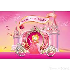 الأميرة فتاة عيد ميلاد سعيد خلفية الوردي مطبوعة الموسيقى ملاحظات