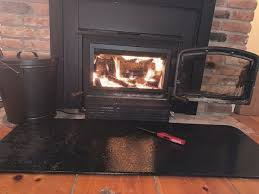drolet rigid fire screen for wood stove