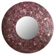 mirror wall mirror purple wall mirrors