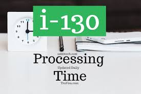i130 processing time for spouse