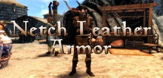 morrowind armor netch leather sse