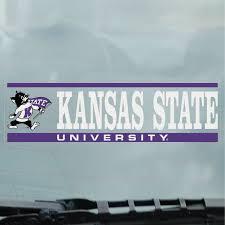 Kansas State University Wildcats Cling Decal Kansas State University Manhattan And Olathe