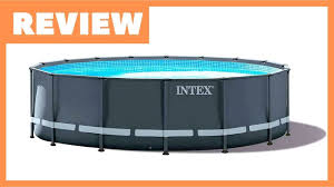 Intex Ultra Xtr Pool Review Intex 18 X 52 Ultra Xtr Pool Youtube