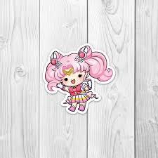 Sailor Chibi Moon Vinyl Decal Jlynnpaperco
