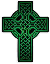 Amazon Com Gt Graphics Celtic Cross Green Large Size Vinyl Sticker Decal For Truck Car Cornhole Board Clothing