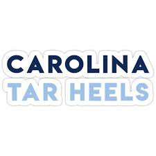Unc Chapel Hill Sticker By Thea12 In 2020 Unc Chapel Hill Vinyl Decal Stickers Hydroflask