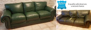 leather sofa recovery affordable