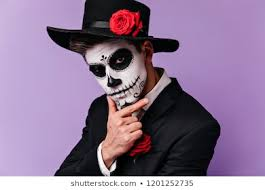 day of the dead male images stock