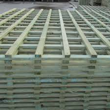 Square Trellis Heavy Duty Lattice Pressure Treated Free Delivery Available