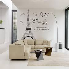 Romantic Paris Eiffel Tower Wall Stickers Wallpaper Mural Wall Decals For Bedroom Living Room Home Decoration Home Decoration Wall Stickers Home Sticker From Yinke Home 1 68 Dhgate Com