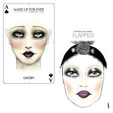 easy halloween makeup 1920 s flapper