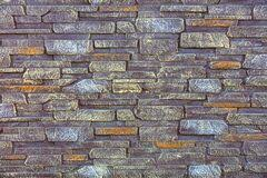 A Stone Fence Made Of Natural Stones Of Different Sizes Is Covered With Yellow Gray And Brown Paint Stock Image Image Of Backdrop Exterior 180673287