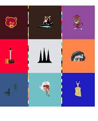 Kanye West Albums Ipad Case Skin By Simonneedham Redbubble