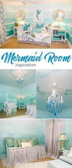 Mermaid Inspired Child S Room Mermaid Room Kid Room Decor Little Girl Rooms