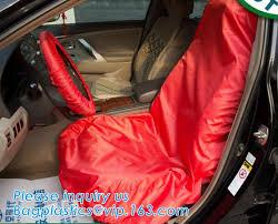 plastic disposable car seat cover