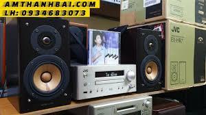 Khui hộp dàn mini Nhật JVC EX HR7 hi-end cao cấp loa màng gỗ anh đào - Yến Âm  Thanh Bãi - 0934683073