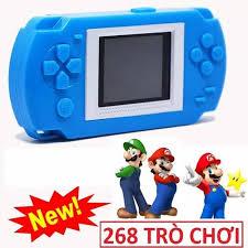 Máy chơi game cầm tay 268 in 1 HKB 505 - trò chơi dân gian - tăng kèm pin