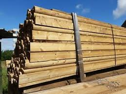 Half Round Fence Rails For Sale Ebay